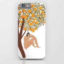 Sous l'Oranger iPhone Case
