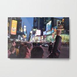Take Times Square Metal Print