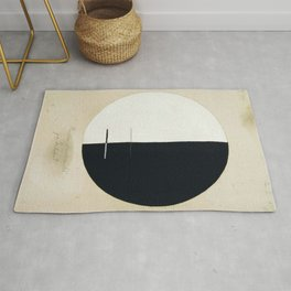 Hilma Af Klint Buddha's Standpoint In The Earthly Life Rug