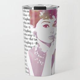 My Audrey Travel Mug