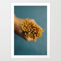 pasta Art Prints featuring Pasta by Laura Baay