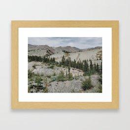 Kluane Lake, Yukon Territory, Canada Framed Art Print