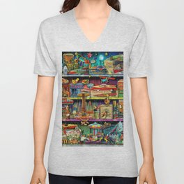 Toy Wonderama Unisex V-Neck