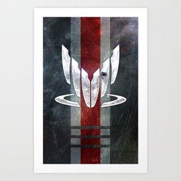 N7 Spectre Art Print