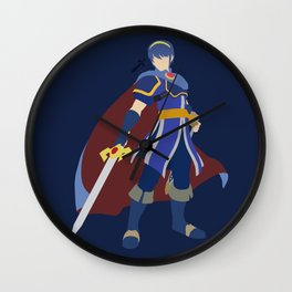 Marth(Smash)Blue Wall Clock