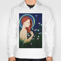 firefly Hoodies featuring Firefly  by A.LynnArt