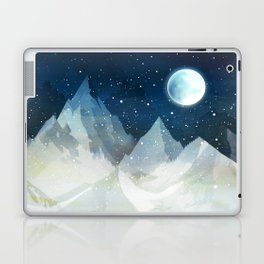 Mountain Lake Under the Starlight Laptop & iPad Skin