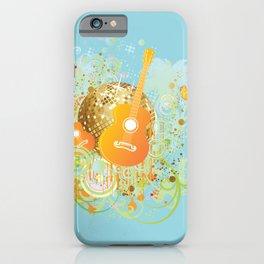 Tropical disco iPhone Case