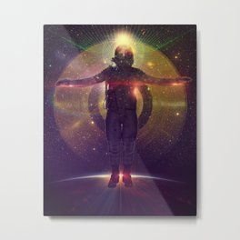 Space Oddity Metal Print