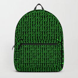Binary Green Backpack