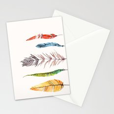 falling all around me Stationery Cards