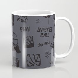 Basketball. Play. Pattern#2 Coffee Mug