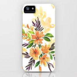 """Floral bouquet """"Felicity"""" iPhone Case"""