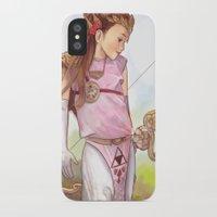 zelda iPhone & iPod Cases featuring Zelda by Sheharzad
