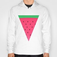 watermelon Hoodies featuring Watermelon by AnishaCreations