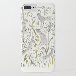 Grey Cheetahs iPhone Case