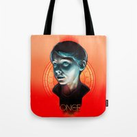 ouat Tote Bags featuring Henry - OUAT by Seventy-three