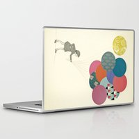 cassia beck Laptop & iPad Skins featuring Party Girl by Cassia Beck