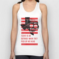 misfits Tank Tops featuring Misfits JFK Poster Series - Pick Up His Head by Robert John Paterson