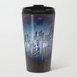 Walls in the Night - UFOs in the Sky Metal Travel Mug