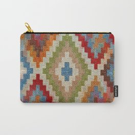 kilim rug pattern Carry-All Pouch