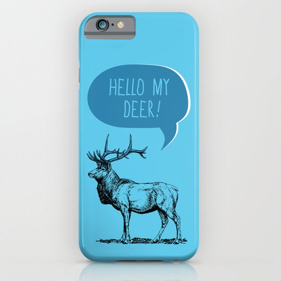 Deer Pun iPhone & iPod Case