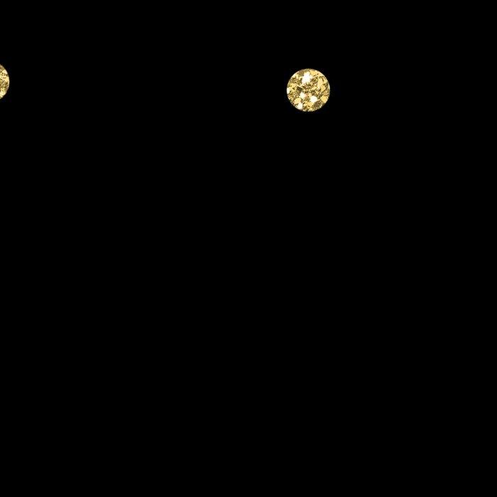 Sparkling gold glitter confetti on black - Luxury design Leggings