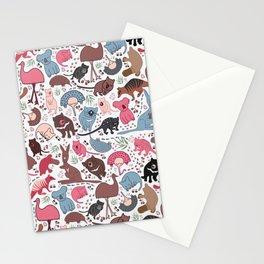 Aussie Animals Stationery Cards
