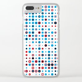 Roundel Fruit Salad Clear iPhone Case
