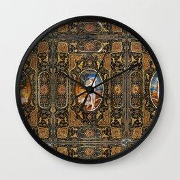 Gregorian Maiden Wall Clock
