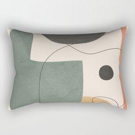 Abstract Minimal Shapes 25 Rectangular Pillow