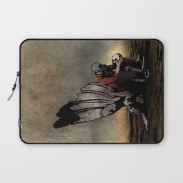 The Angel And The Skull Laptop Sleeve