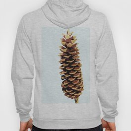 Simple Modern Pinecone Digital Art Hoody