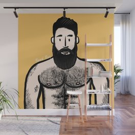 Beard Boy: Alejandro Wall Mural
