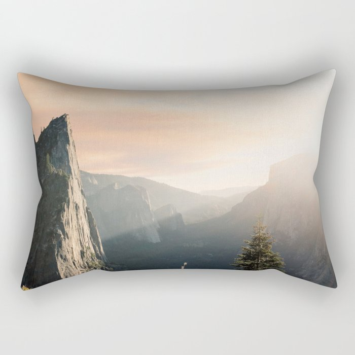 Mountains landscape 4 Rectangular Pillow