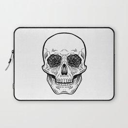 Side Effects Skull Laptop Sleeve