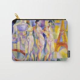 """Robert Delaunay """"La Ville de Paris"""" Carry-All Pouch"""