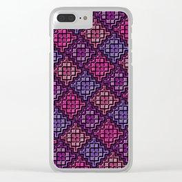 Geometrix 108 Clear iPhone Case