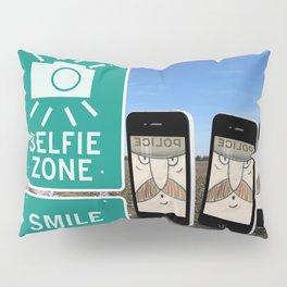 Selfie Zone - Smile Pillow Sham