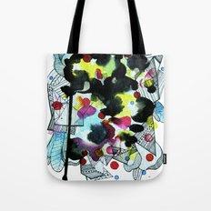 Hanging worlds  Tote Bag