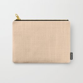 Peach Puff Carry-All Pouch