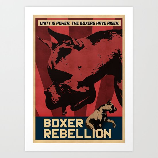Boxer Rebellion  Art Print