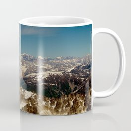 ALASKA I: Ruth Glacier beneath Denali ~ The Great One ~ Mt. McKinley Coffee Mug