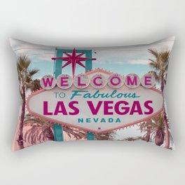 Retro Las Vegas Rectangular Pillow