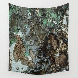 Weathered Iron rustic decor Wall Tapestry