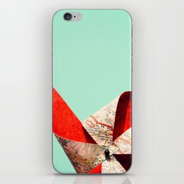 nothing but blue sky iPhone Skin