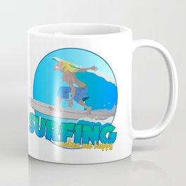 Surfing Coffee Mug