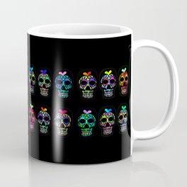 Dozen Sugar Skulls Coffee Mug