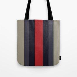 High Fashion Designer Style Stripes Tote Bag