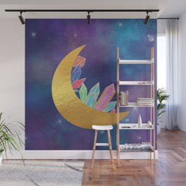 Crystal Moon Wall Mural